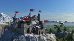 GAM Burg fern